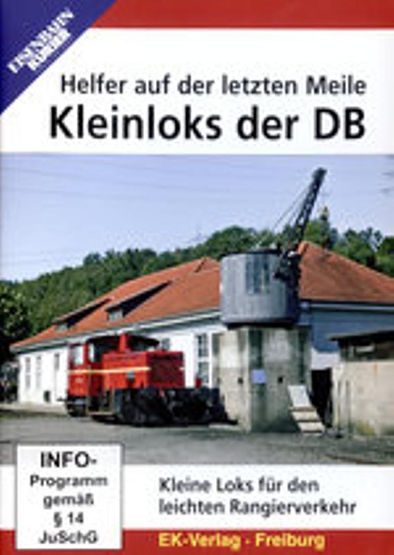 Kleinloks der DB - Helfer auf der letzten Meile DVD Bild