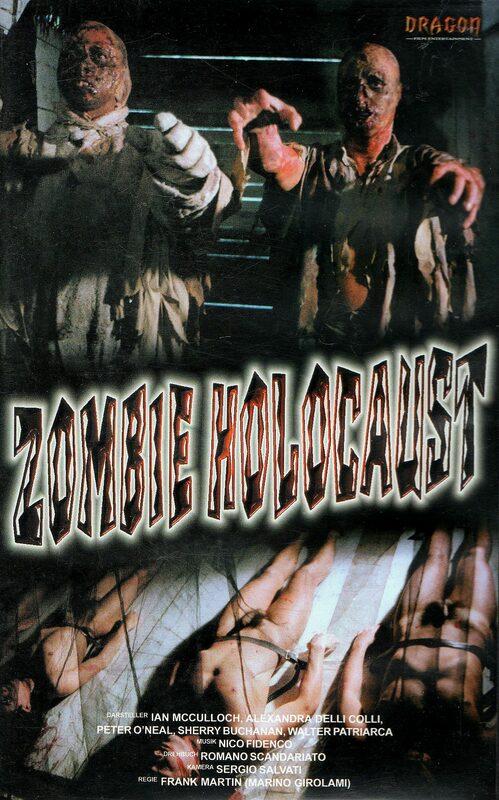 Zombie Holocaust VHS-Video Bild