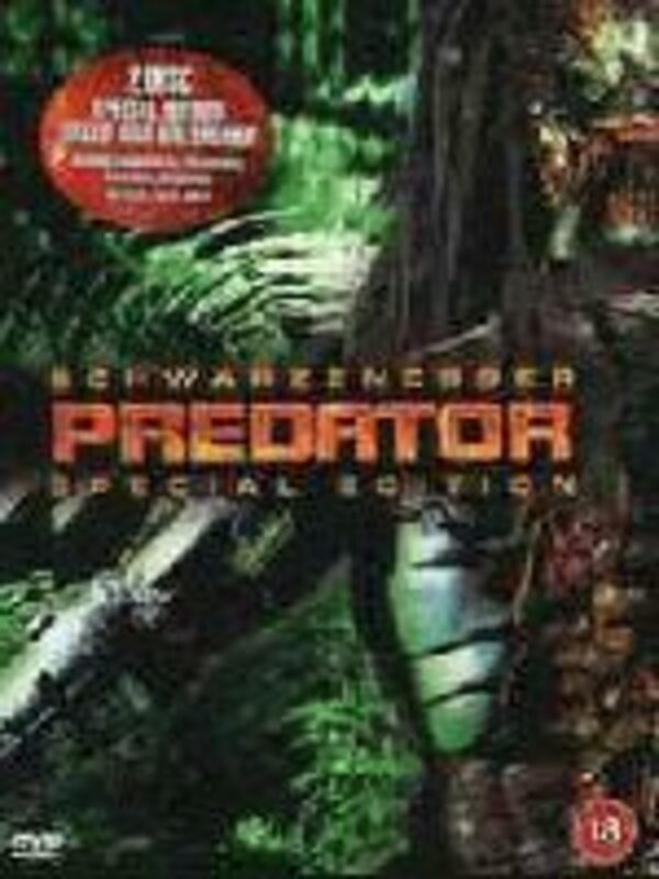 Predator: Special Edition UK DVD Bild