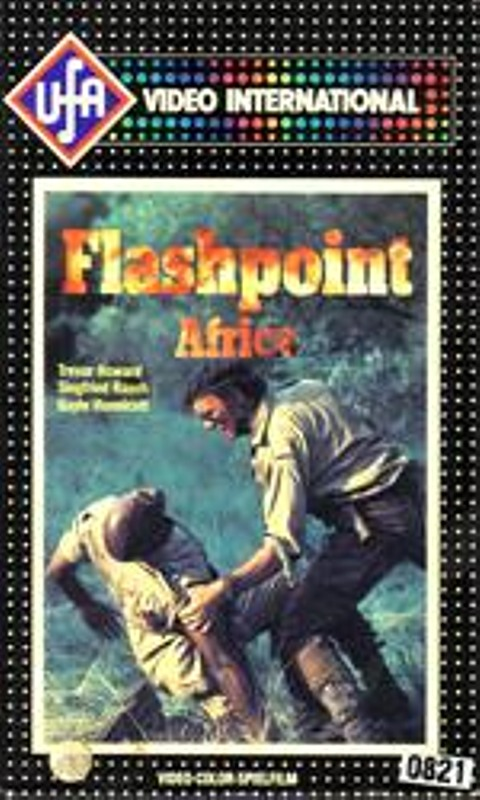 Flashpoint Africa VHS-Video Bild