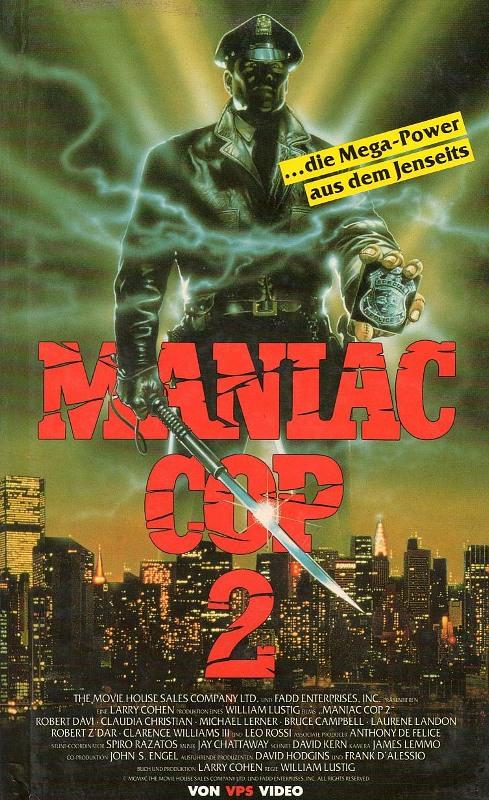 Maniac Cop 2 VHS-Video Bild