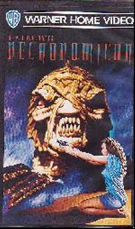 H.P. Lovecrafts Necronomicon VHS-Video Bild