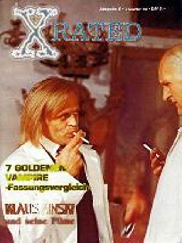 X-Rated - Das Horror Filmmagazin Ausgabe 6 DVD-Magazin Bild