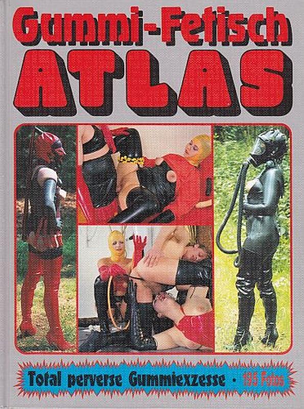 Gummi- Fetisch Atlas Buch Bild