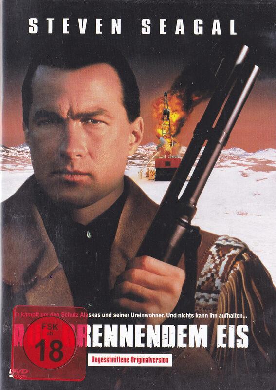 Auf brennendem Eis DVD Bild