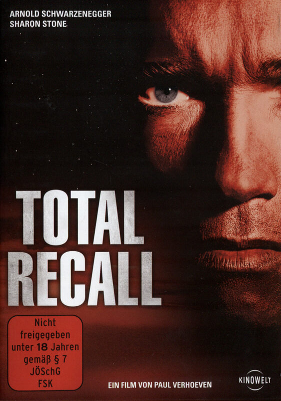 Total Recall DVD Bild