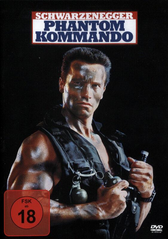 Phantom Kommando DVD Bild