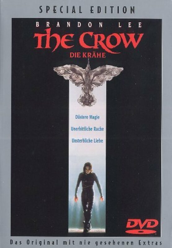 The Crow - Die Krähe  [SE] DVD Bild